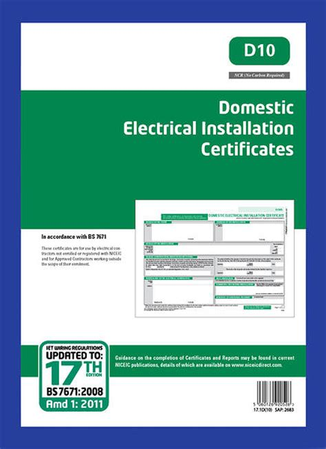 minor electrical installation works certificate template 28 electrical installation certificate template di