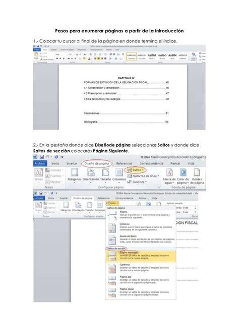 c 243 mo insertar un pdf en word mil comos mil comos enumerar paginas word 2007 desde la pagina que quieras c
