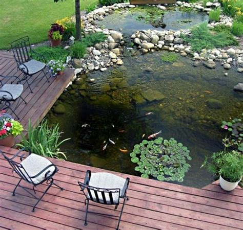 backyard fish pond ideas 67 cool backyard pond design ideas digsdigs