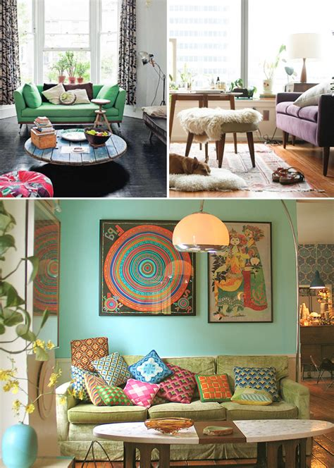 bohemian modern living rooms culture scribe
