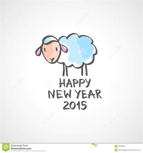 new year sheep vector sheep stock vector image 45693678