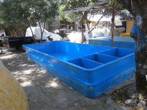 Harga Terpal Kolam Udang bak fiber ikan koi kolam air fiberglass murah