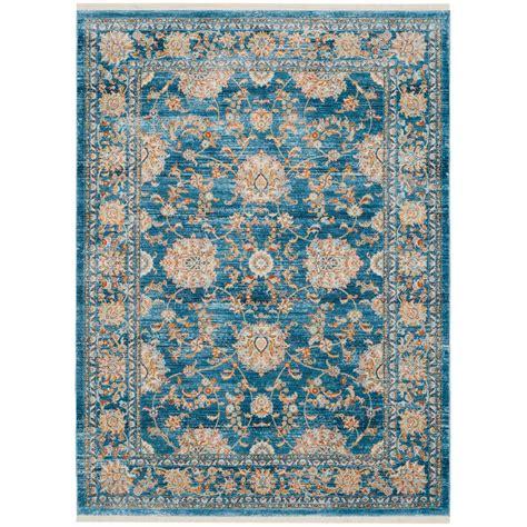 9 ft rugs safavieh vintage turquoise multi 6 ft x 9 ft area rug vtp469k 6 the home depot
