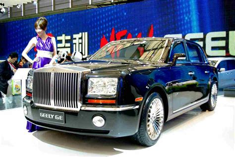Auto Ge by Geely Ge Phantom Look Alike In Shanghai Autoblog Nl