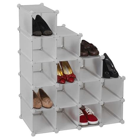 storage solutions shoe cubby furniture fashion6 shoe organizer closet storage solutions