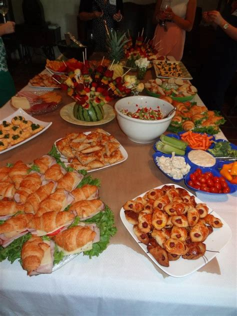 Food For Bridal Shower by