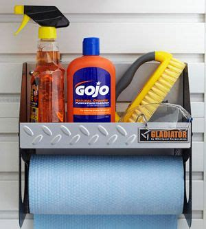 gladiator paper towel holder organization ideas for storage smart garages simple home