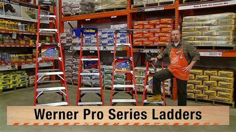 werner ladders step ladders 31 12 220 3 home depot