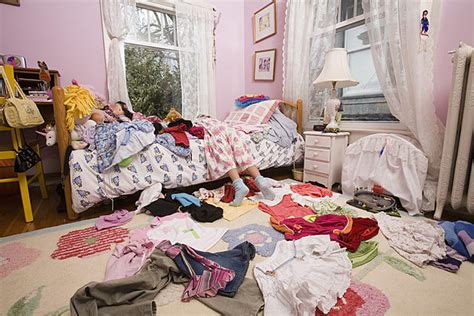 girls messy bedroom your bedroom may be keeping you from a good night s sleep