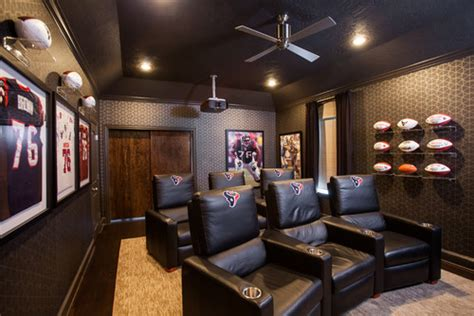 home theater design in houston 5 media rooms every football fan will drool over pegasus