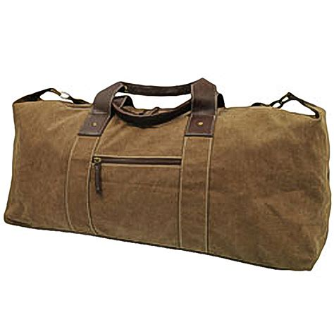blackcanyon outfitters large canvas duffle bag