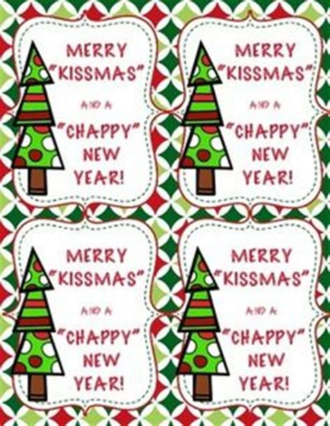 chappy new year printable merry kissmas and chappy new year 4 different