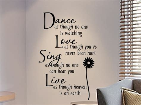 word art for bedroom walls wall decals for teens girls bedroom wall decal dance as