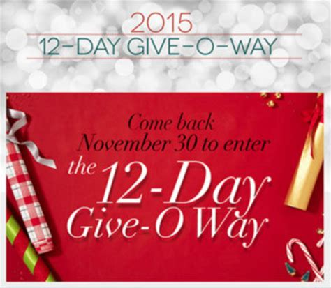 The 12 Day Giveaway Oprah - www oprah com 12days oprah 12 day give o way 2017