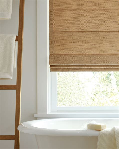 window coverings for bathrooms bathroom window treatments