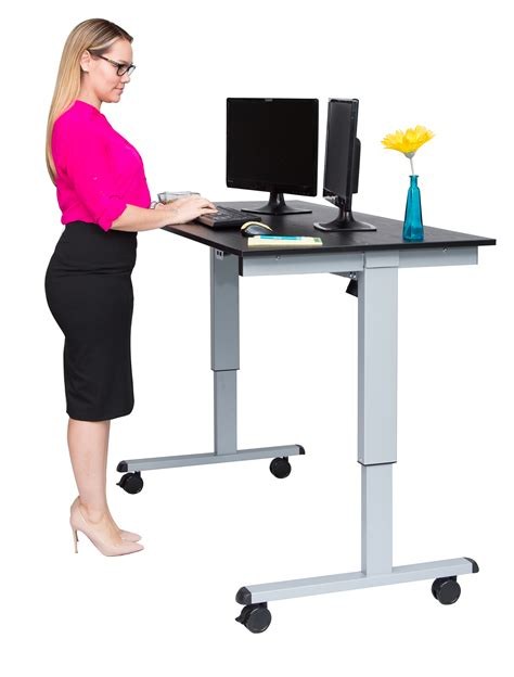 standing desks luxor 60 electric standing desk notsitting