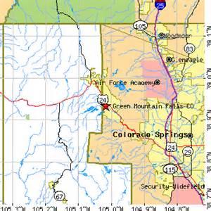 green mountain falls colorado co population data