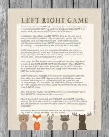 left right baby shower best 20 woodland animals theme ideas on