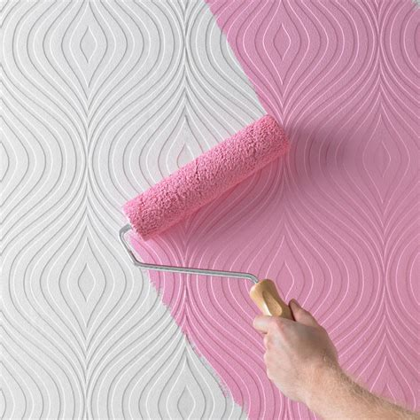 painting textured wallpaper curvy paintable wallpaper contemporary wallpaper