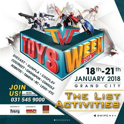 Bazaar Mainan toys week 2018 171 informasi pameran event dan bazaar