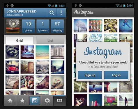 instagram app android instagram for android updates adds tablet and wi fi device support i2mag trending tech news