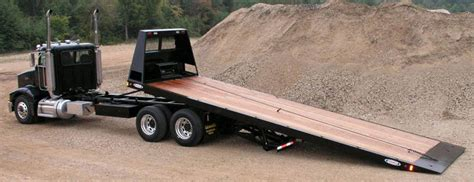 rollback bed for sale browse our rollback haul trucks for sale ledwell