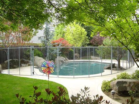 Cheap Backyard Fence The Safest And Strongest Pool Fence 1 Swimming Pool