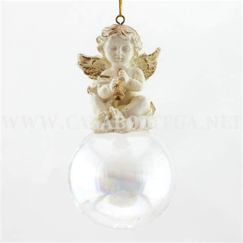 fiori di vetro soffiato statuine angelo bianco angeli