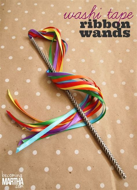 ribbon projects crafts best 25 ribbon wands ideas on how to make