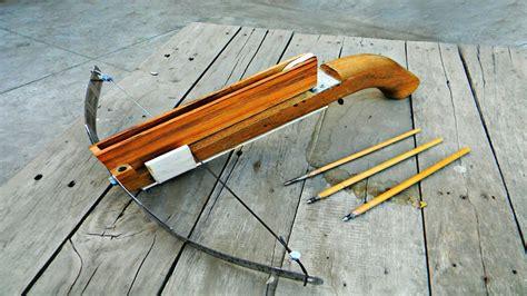 Handmade Crossbow - crossbow easiest tutorial
