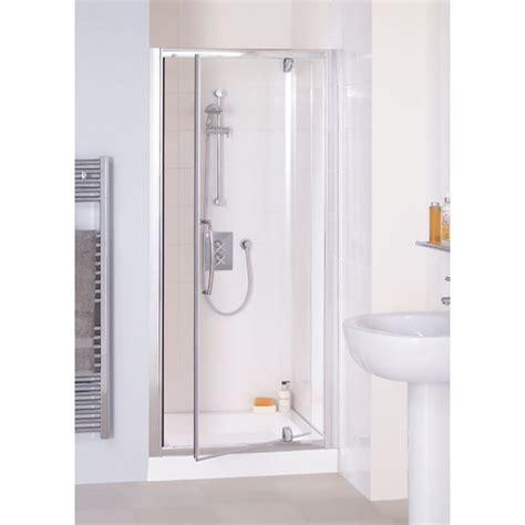 Lakes Reduced Height 800 X1750 Semi Framed Pivot Shower Reduced Height Shower Door