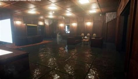 mad men office recreation unreal engine 4 game art design youtube metal gear solid s shadows mosses remake in unreal engine