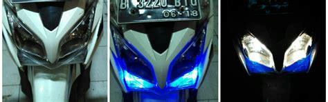 Reflektor Lu Depan Honda Vario 125 Kzr Kw Premium cara ganti headl vario 125 yang pecah triyanto banyumasan s