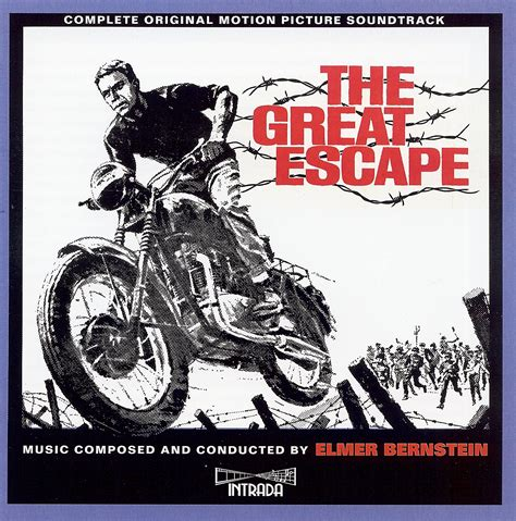 Cd Sevent Great Escape of my soul elmer bernstein 1963 the great escape 3cd intrada flac