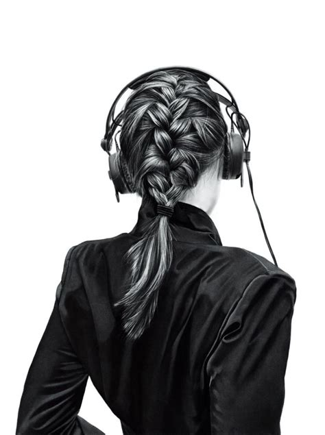 realistic plait hair styles 20 best drawing with charcoal images on pinterest pencil