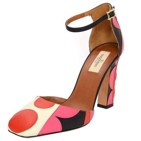 Shoe Polkadot Pink valentino and pink polka dot pumps sz 40 for sale at