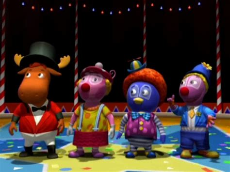 Backyardigans Clowns Image Clowns In Town Cast Jpg The Backyardigans Wiki