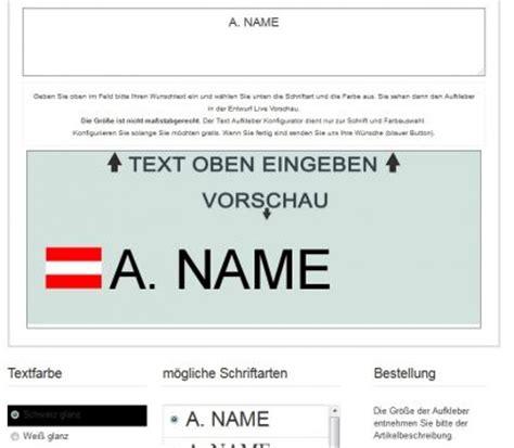 Auto Sticker Bestellen österreich namensaufkleber f 252 rs auto mit 246 sterreich flaggen aufkleber