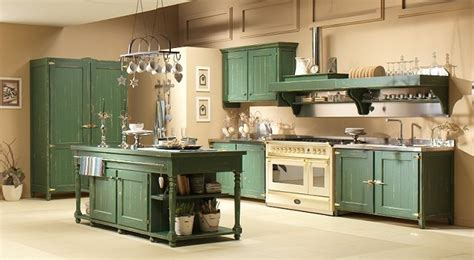 cucina country verde stunning cucina country verde ideas home interior ideas