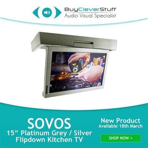 sovos bathroom tv 30 best images about kitchen tvs flipdown tv pop up tv cabinet door tv on