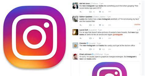 logo  instagram tuai respon negatif  twitter