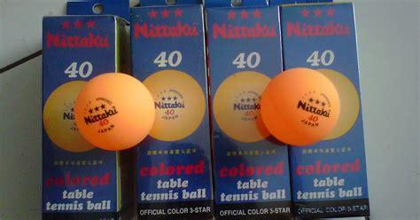 Meja Pingpong Merk Nittaku bola untuk tenis meja atau pingpong merk nittaku dasha