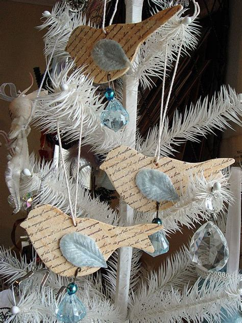 Handmade Bird Ornaments - 53 best images about wintertijd en kerstsfeer on