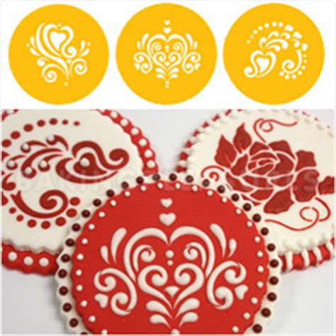 Stencils For Cookie Decorating by Cookie Stencil