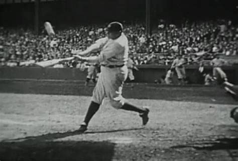 babe ruth swing babe ruth and ty cobb starred in odd instructional film