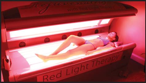 red light therapy tanning bed light therapy for skin related treatment