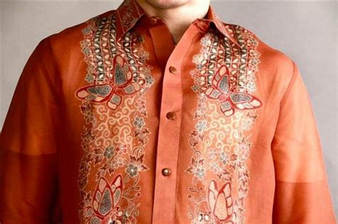 Batik Design Philippines | filipinos put pinoy chic to indonesian batik