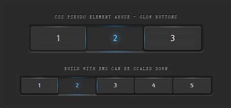 format html radio button css3 3d发光按钮 立体感十分强烈 html5资源教程