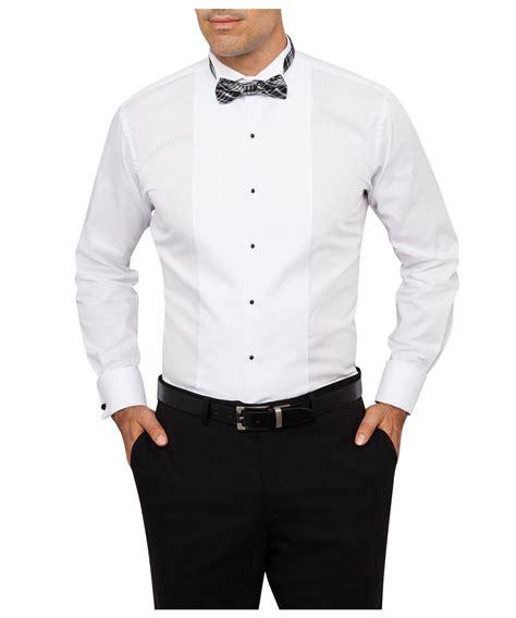 patterned dinner shirt formal tuxedo shirt wing collar marcella front euro