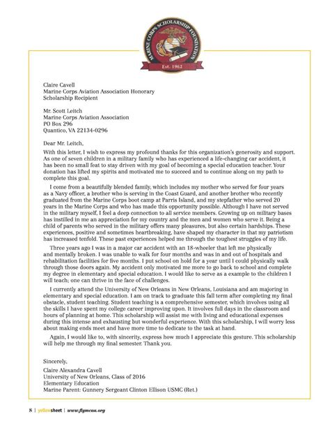 usmc ro appointment letter thank you letter ending business relationship thank you